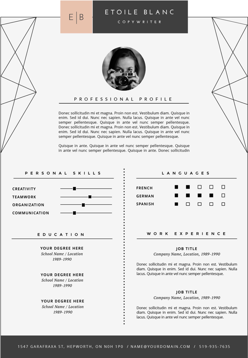 fonts for resume - Yelom.digitalsite.co