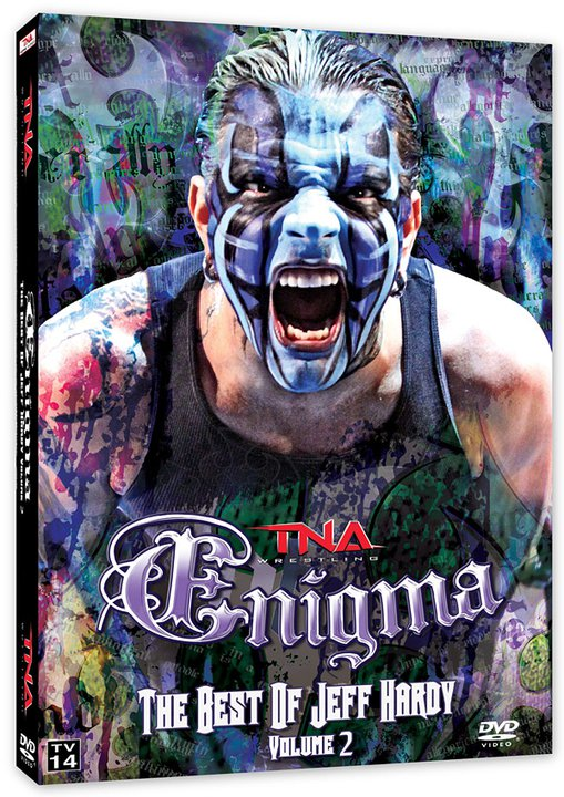 what is font of the word enigma on the new Jeff Hardy DVD