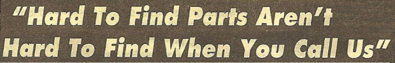"""Hard To Find Parts..."" Font"