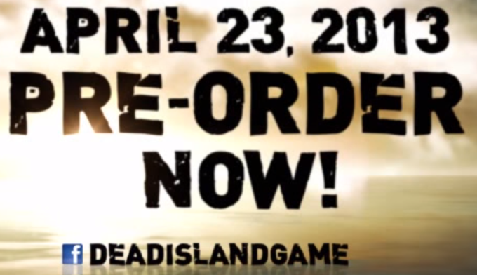 Font from trailer of Dead Island Riptide