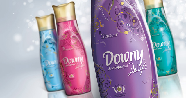 Downy , Deluxe Y Glamour Font?