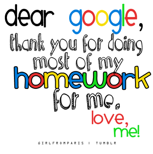 Do my homework google