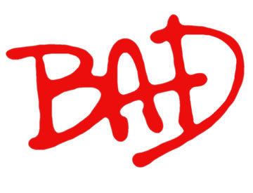 Michael Jackson's Bad Album Font.