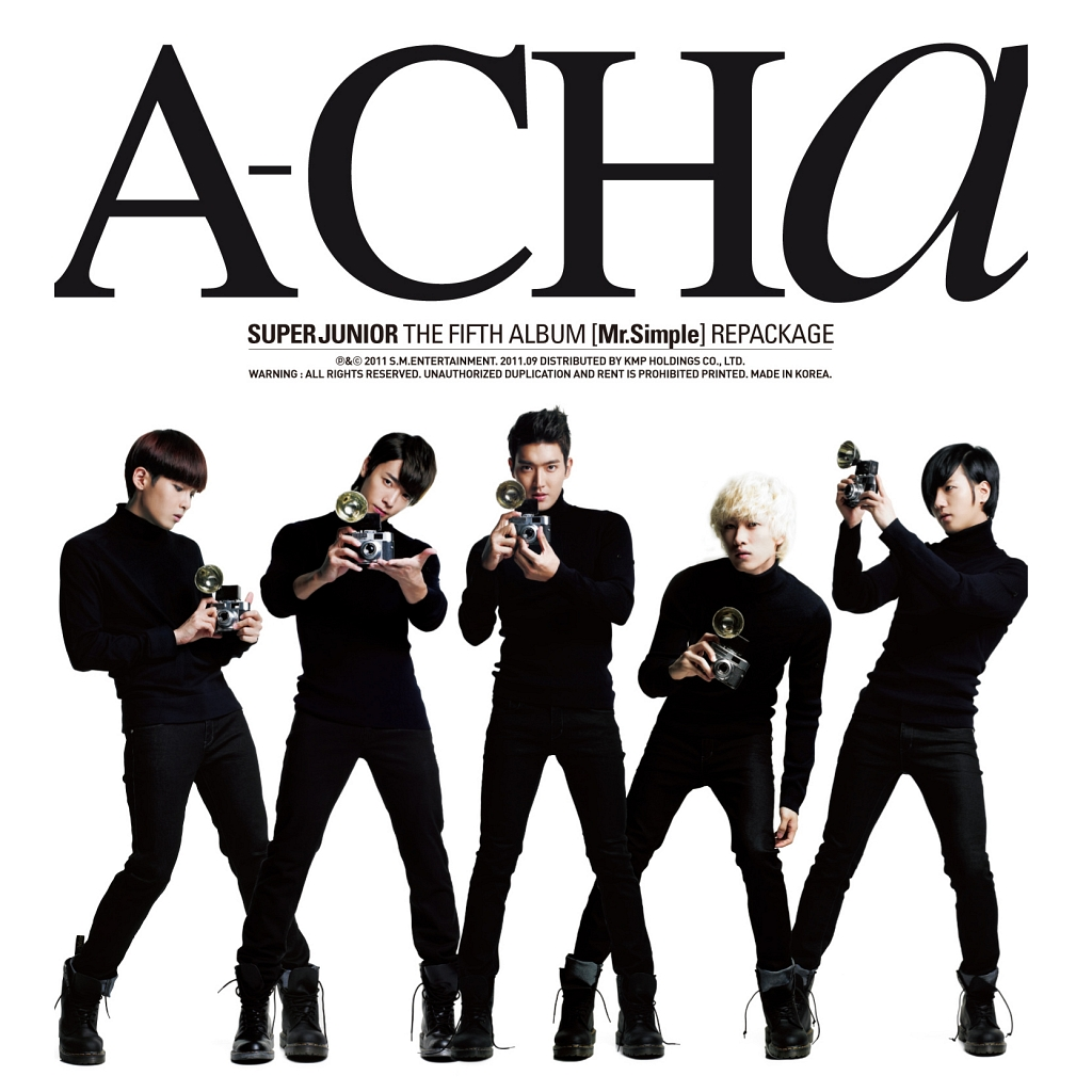 Super Junior - A-Cha repackaged album