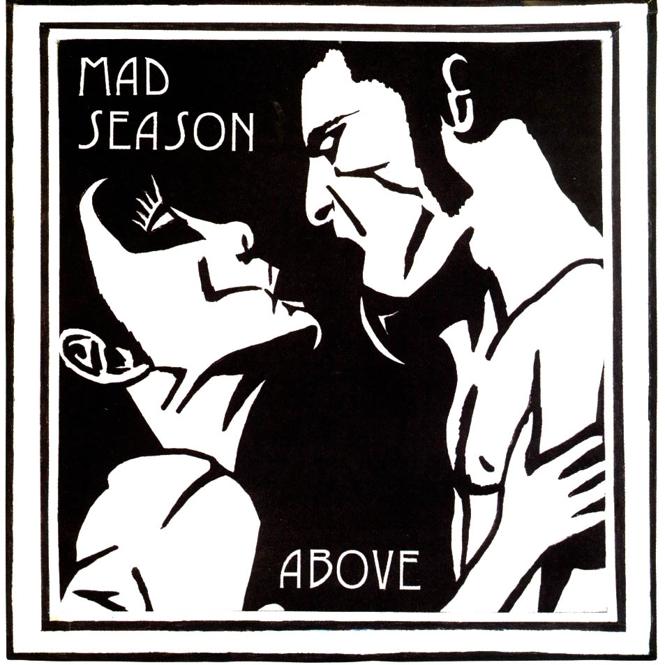 Mad Season CD Cover Font