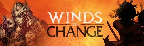 Guild Wars 2 Patch Winds of Change Font style?