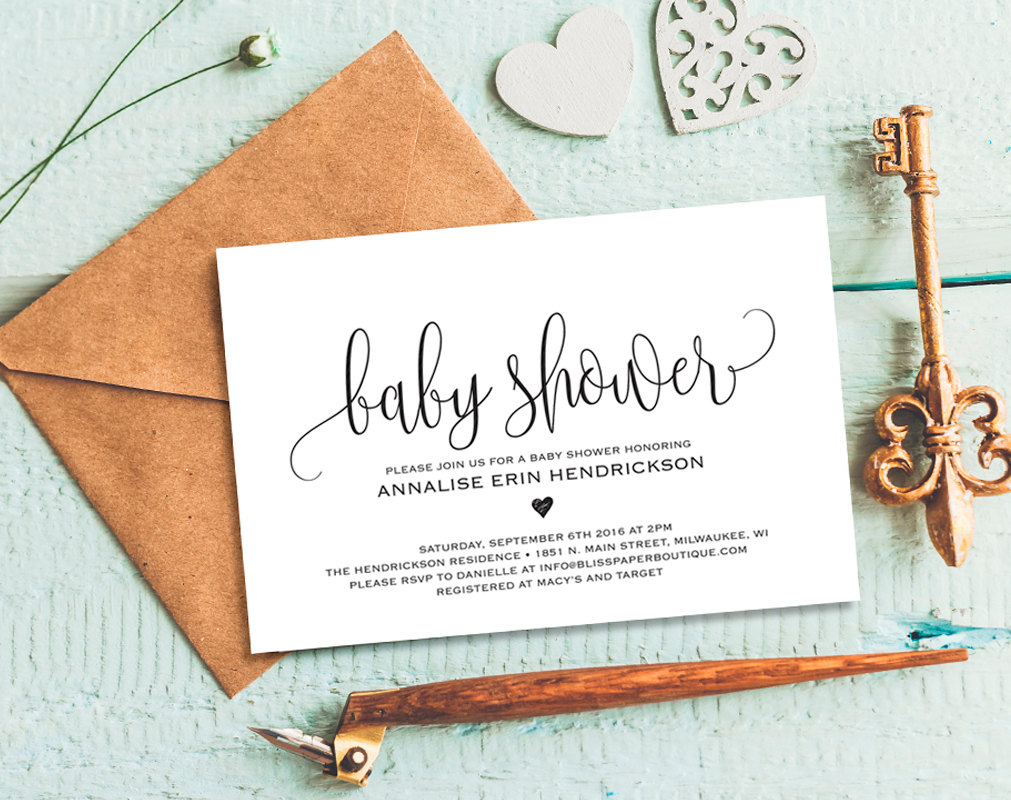 "Font for ""Baby Shower""?"