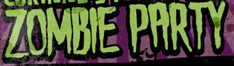 "Font of ""ZOMBIE PARTY""??"