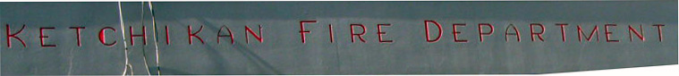 Font on a 1944 Fire Station (w/ Architectural Style Moderne)