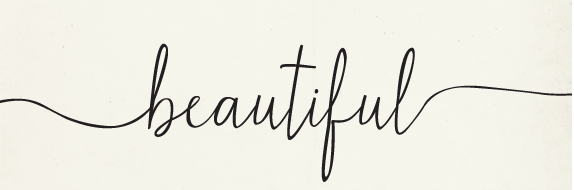 Beautiful font or something similar with quot tails