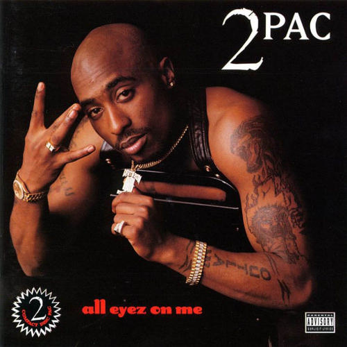 "What font is the ""All Eyez On Me"" text?"