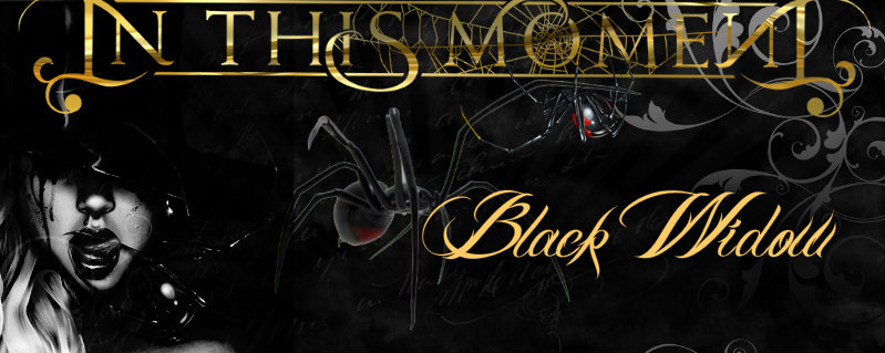 "In This Moment ""Black Widow"" font"