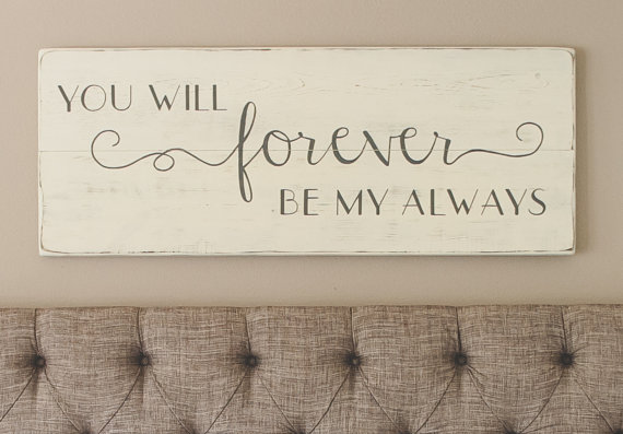 "Could someone Identify the font for the word ""forever"""