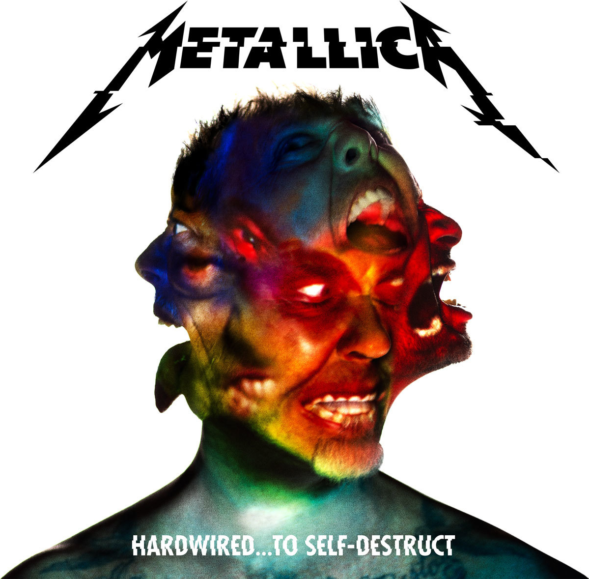 Metallica Hardwired... To Self-Destruct font