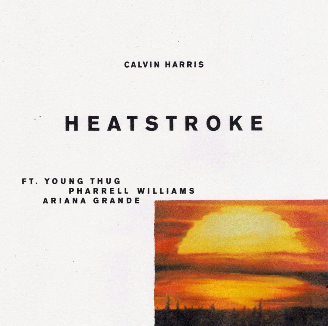 New single of Calvin Harris - Heatstroke - forum | dafont com