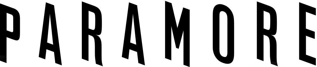 paramore logo 2017 font - photo #3