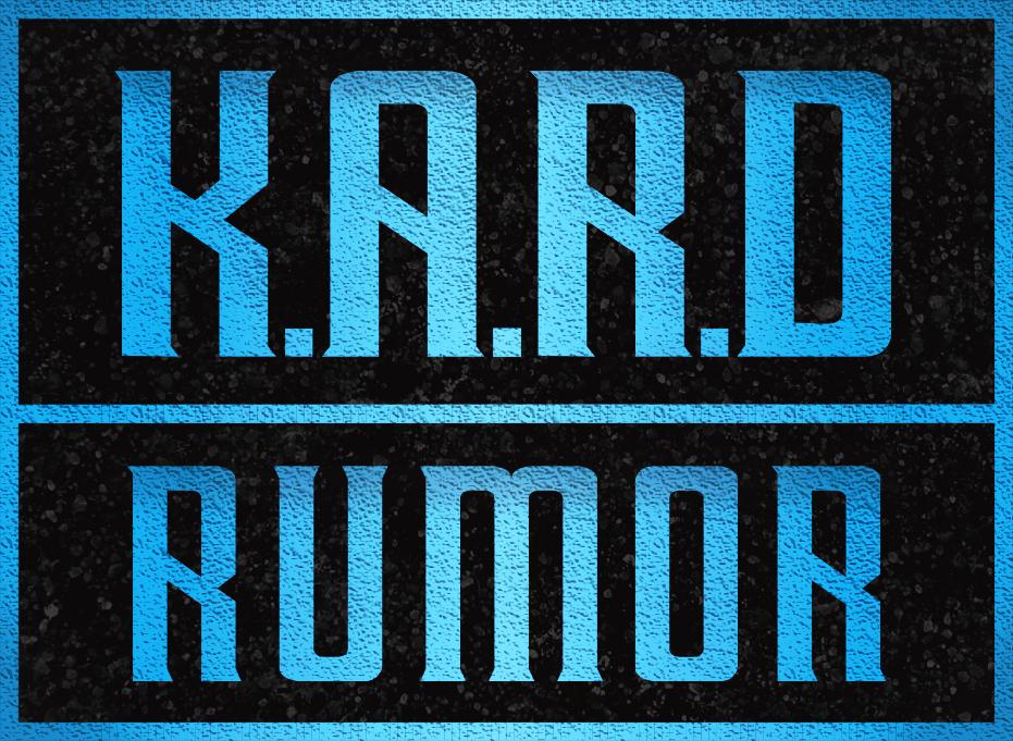 K.A.R.D - RUMOR Font