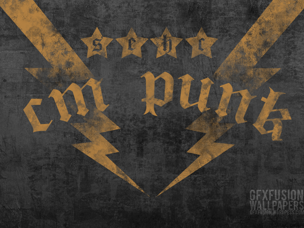 CM Punk widely used font