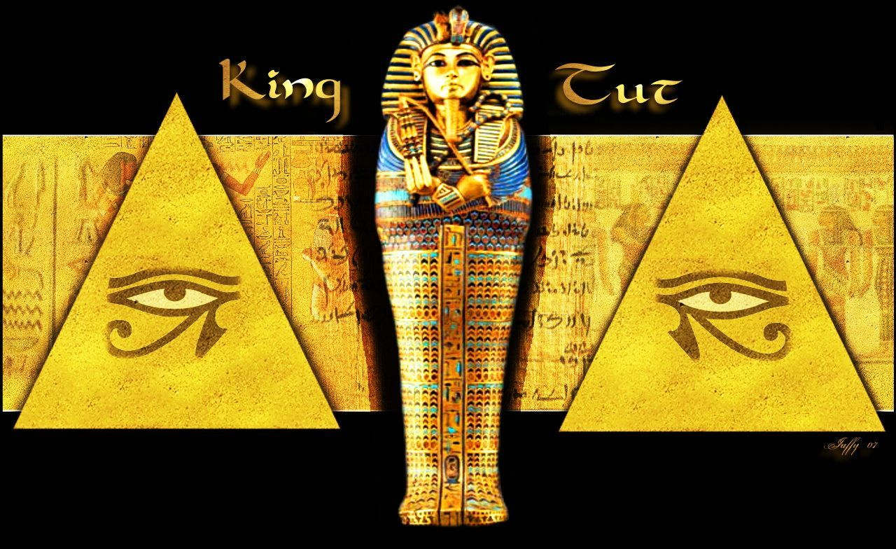 King Tut Calligraphy