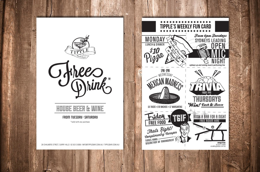 Need help finding 'Free Drink*' font