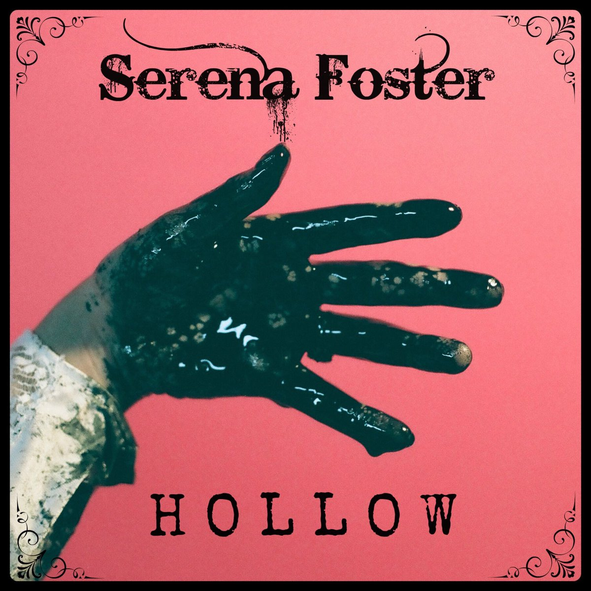 Font Serena Foster - Hollow - Single Cover