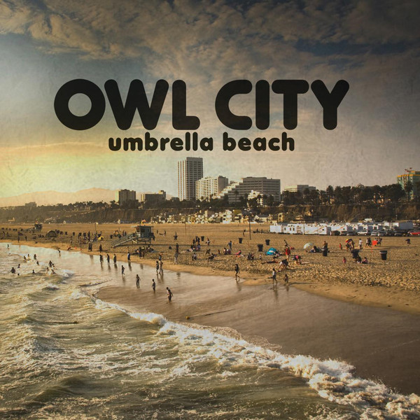 Umbrella beach font - Owl City