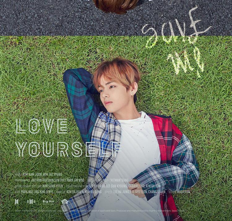 BTS Love Yourself font - forum   dafont com