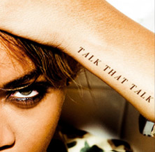 Rihanna TALK THAT TALK album