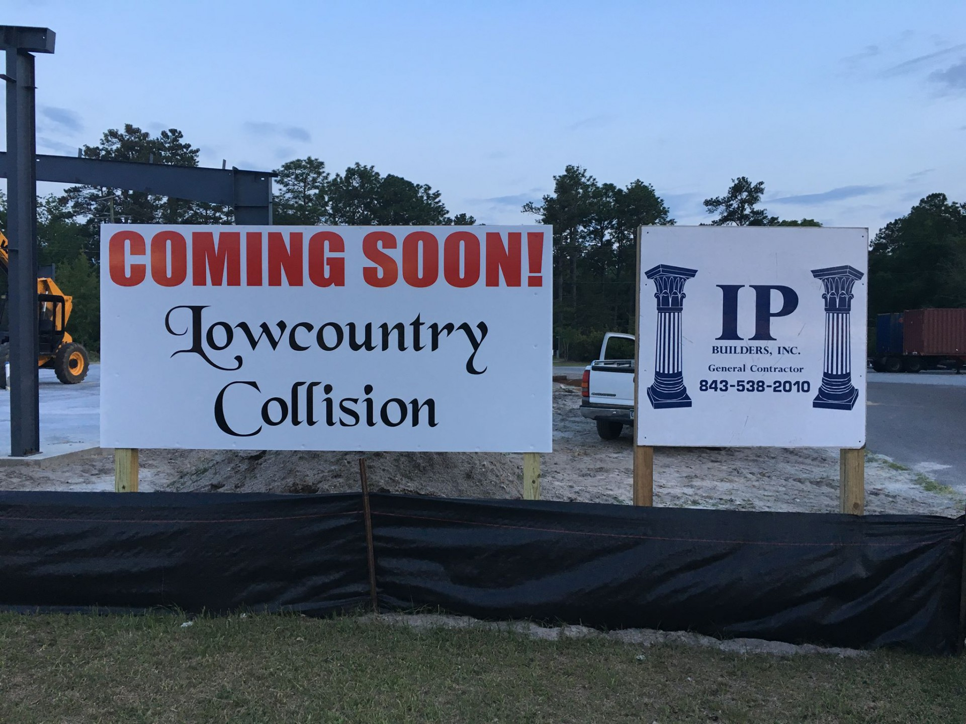 """Lowcountry Collision"""