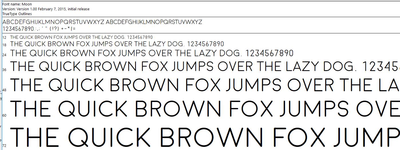 Moon Font Lowercase - forum | dafont com