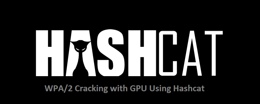 What font is the HASHCAT logo?