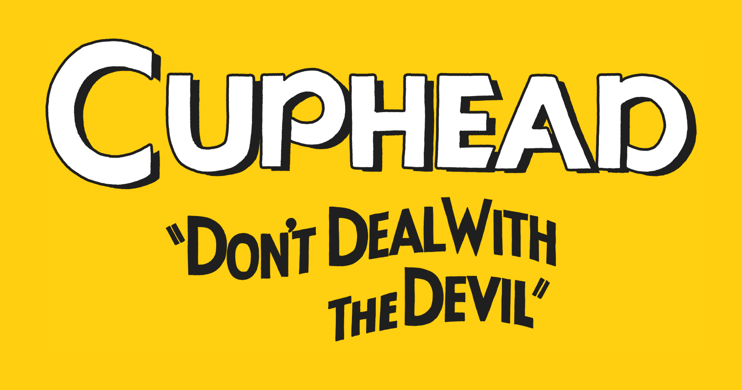 "Cuphead ""Don't Deal With the Devil"" font"