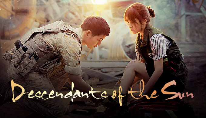Descendants of the Sun font?