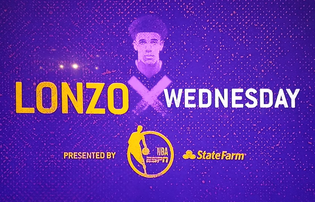 Font ID on the Lonzo x Wednesday?