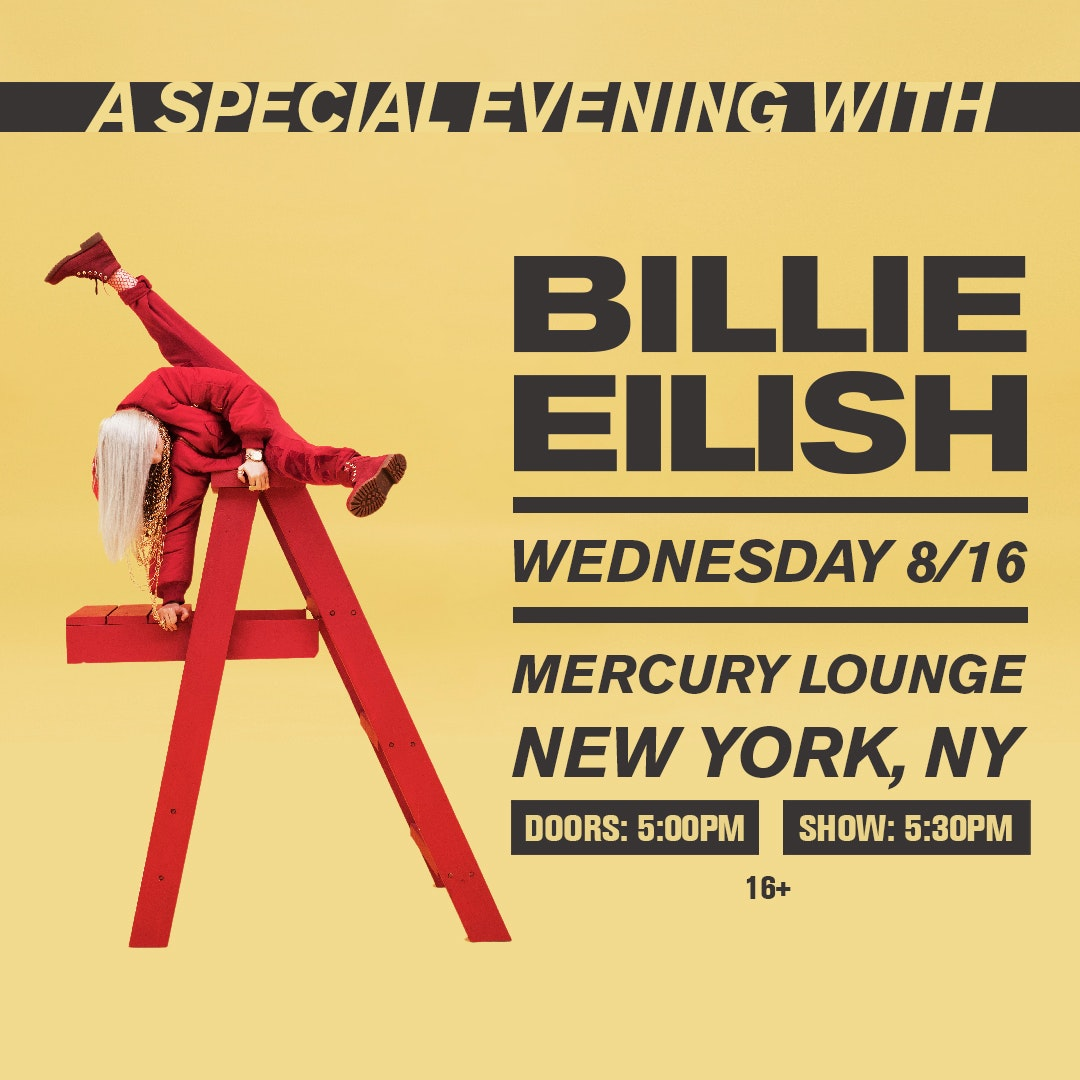 Billie Eilish Tour Font Forum Dafont Com