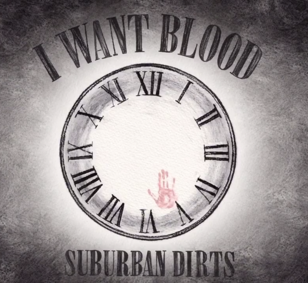 I WANT BLOOD Font
