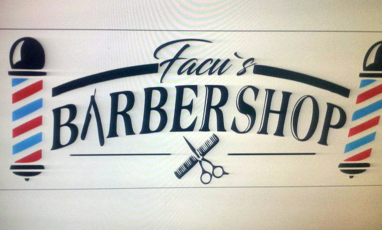 FACUS and BARBER font? please