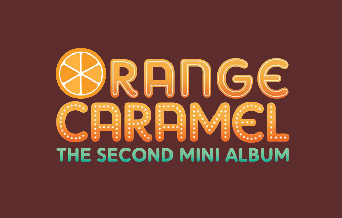 "ORANGE CARAMEL ""The Second Mini Album"" Font / [kpop]"