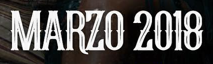 "what font is ""MARZO 2018""... help me please!!! URGENT!!!"