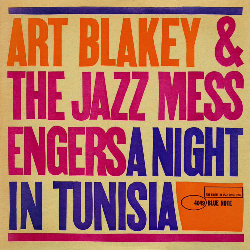 "Hi, Does anyone know which font ""Art Blakey"" is?"
