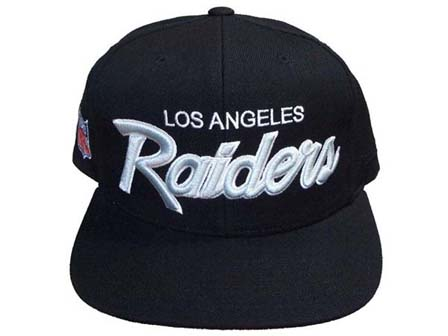 Los Angeles Raiders font