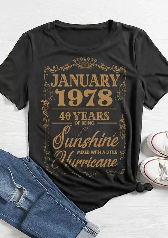 what font is this? January and 40 Years