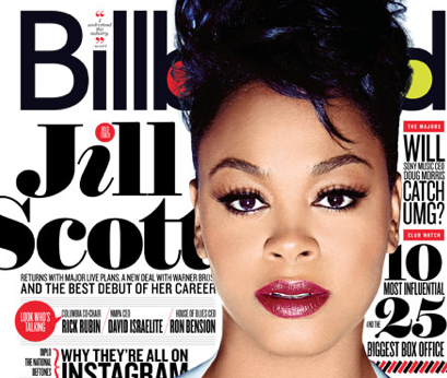 any idea the font used for Jill Scott?