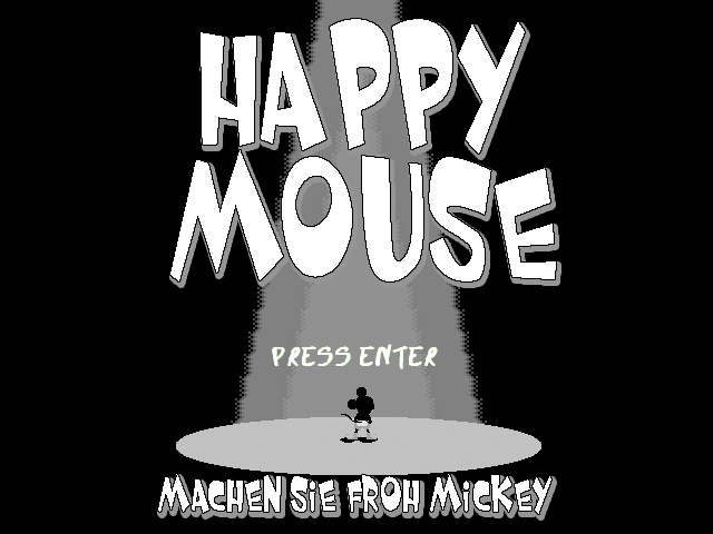 Happy Mouse Screen Fonts?