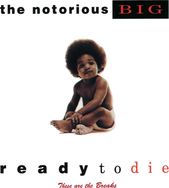 The Notorious Big - Ready To Die fonts