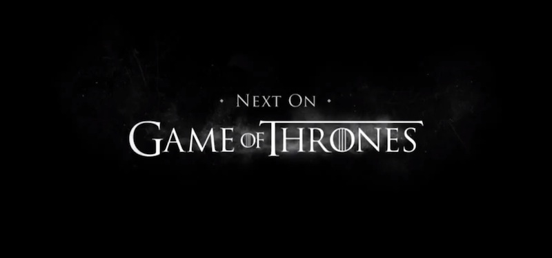 A Game of Thrones Font?