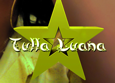 "Someone knows what is the font used on ""Tulla Luana?"