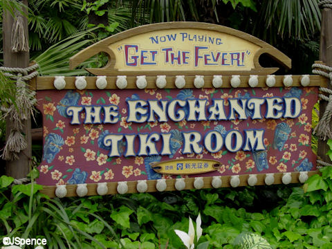 Enchanted Tiki Room: Get The Fever! Signage