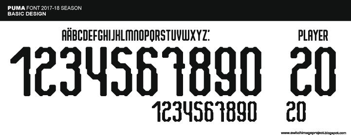 puma font
