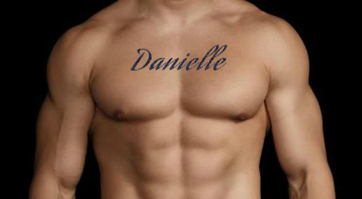 What is the Font for 'Danielle""